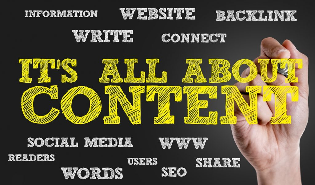 Writing great content for website marketing